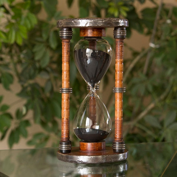 60 Minute Pirate Bobbin Hourglass Sand Timer