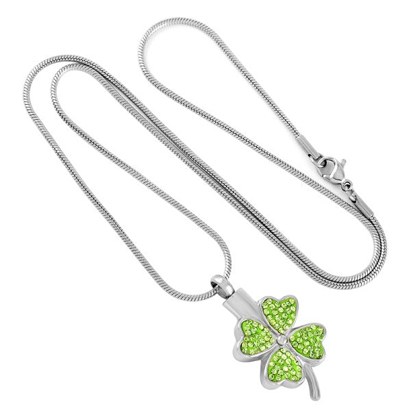 Shamrock Keepsake Necklace