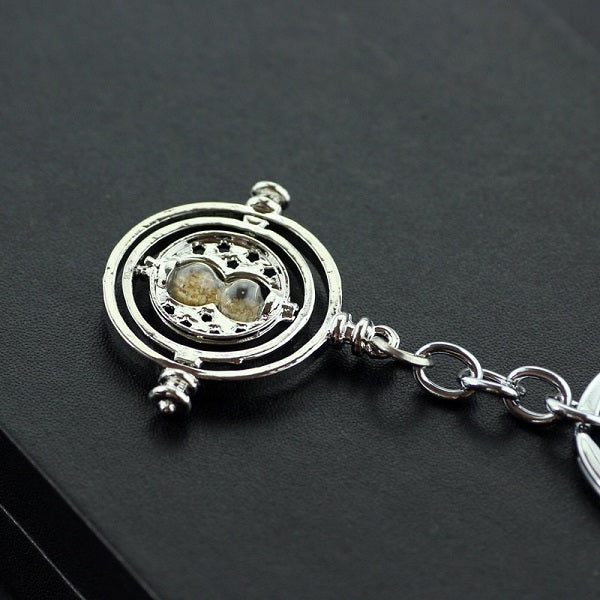 Time Turner Key Chain Sand Timer
