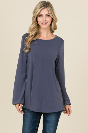 Oceans Blue Top, New Arrivals, BomBom - thirtynine99