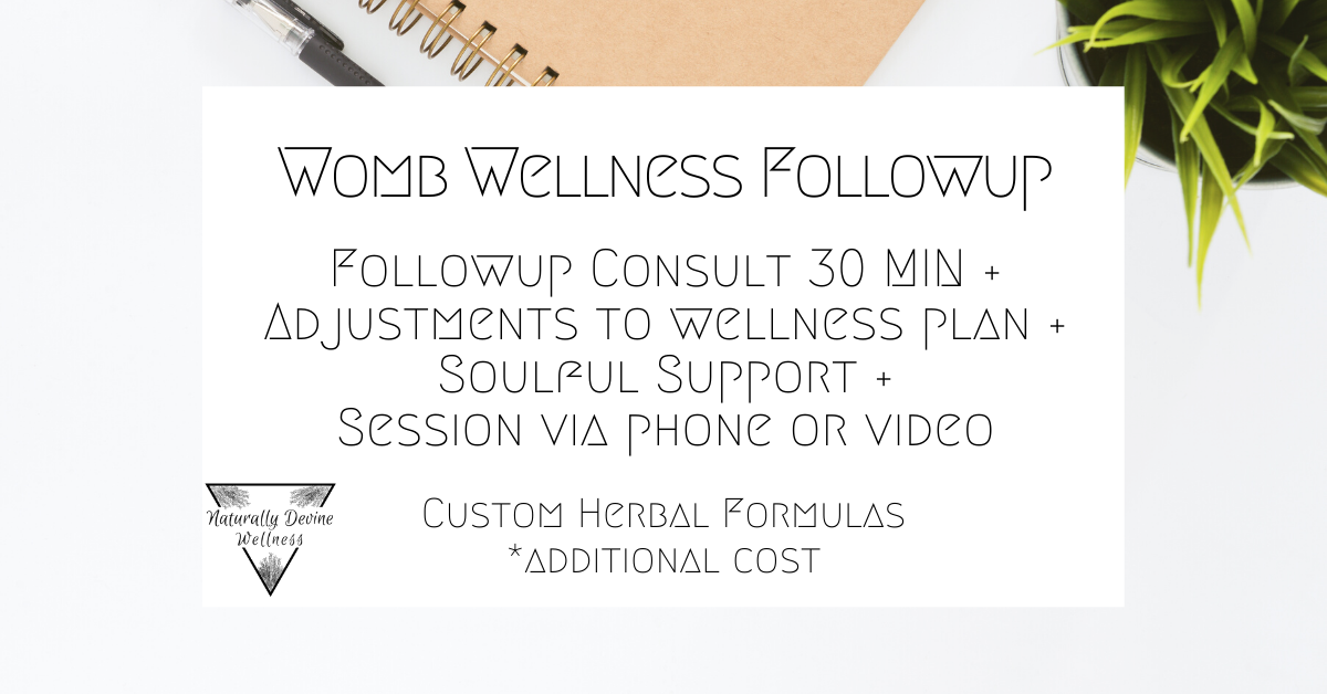 Vaginal Steam and Womb Wellness Consultations by Naturally Devine Wellness Richmond VA