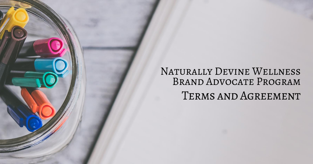 Naturally Devine Wellness Terms and Agreements