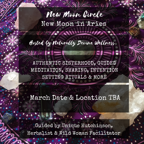 New Moon Circle - Naturally Devine Wellness Richmond VA