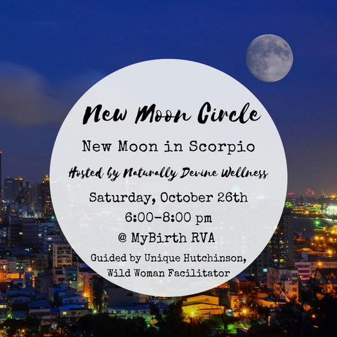 New Moon Circles by Naturally Devine Wellness Richmond VA