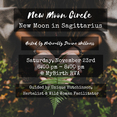 New Moon Circles by Naturally Devine Wellness Richmond, Virginia