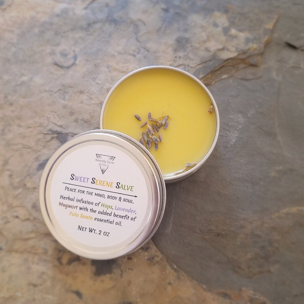 Sweet Serene Salve, Herbal Salves, Naturally Devine Wellness, Naturally Devine Herbal Apothecary