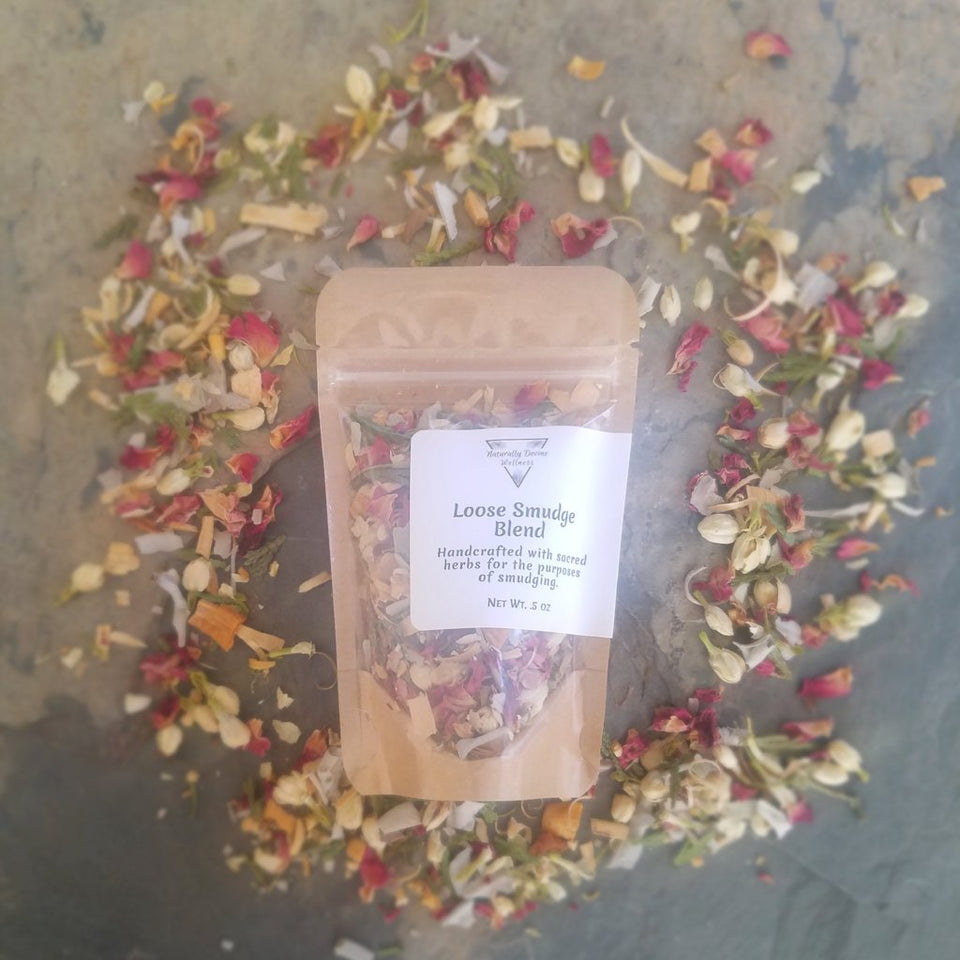 Loose Smudge Blend, Loose Smudge Blend, Naturally Devine Wellness, Naturally Devine Herbal Apothecary