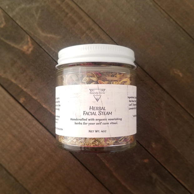 Herbal Facial Steam - Naturally Devine Wellness