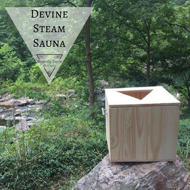 Devine Steam Sauna, Vaginal Steam Herbal Blend, Naturally Devine Wellness, Naturally Devine Herbal Apothecary