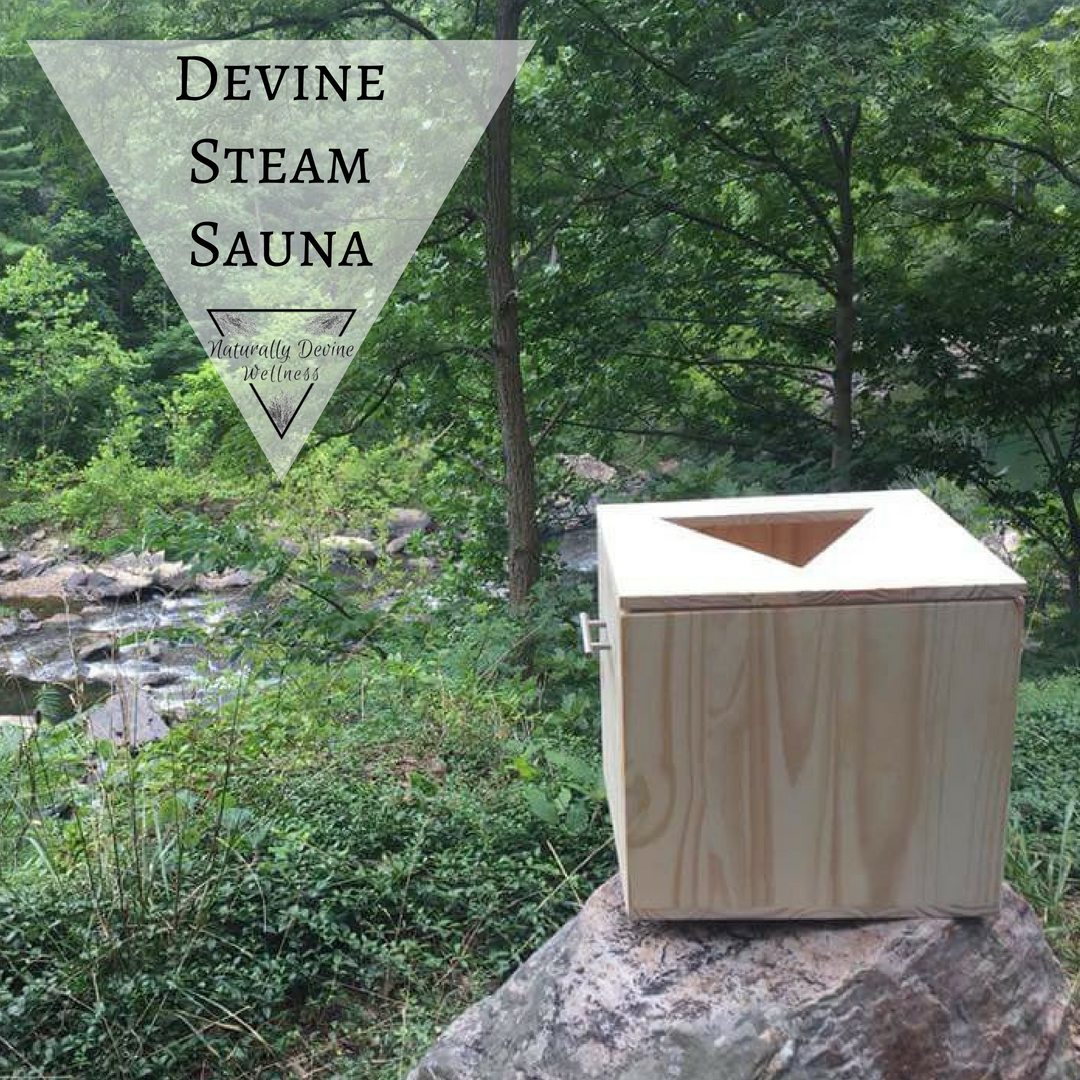 Devine Steam Sauna, Vaginal Steam Box, Naturally Devine Wellness Richmond VA