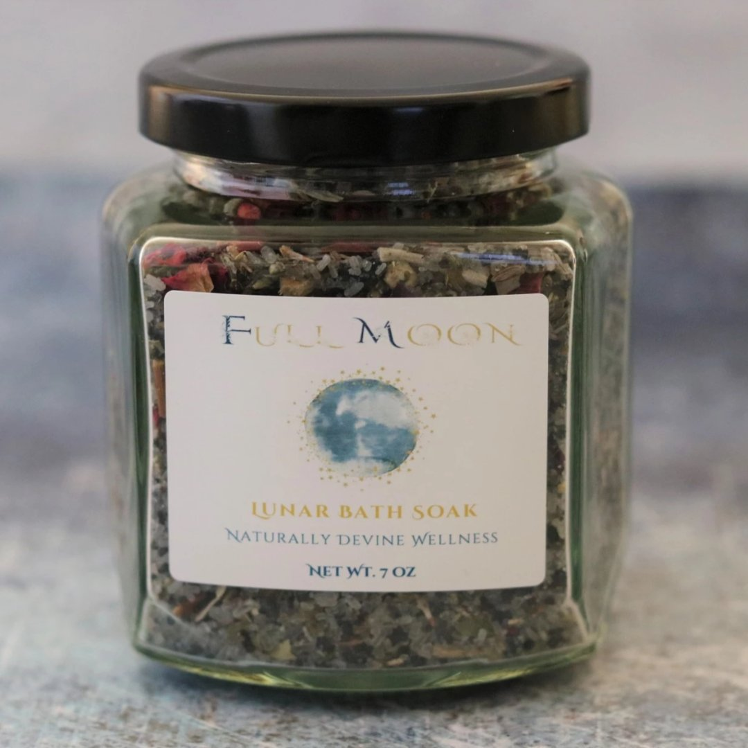 Full Moon Lunar Bath Soak Naturally Devine Wellness Richmond, VA