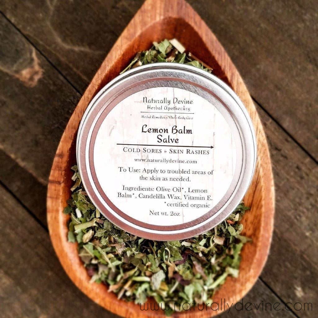 Lemon Balm Salve by Naturally Devine Herbal Apothecary