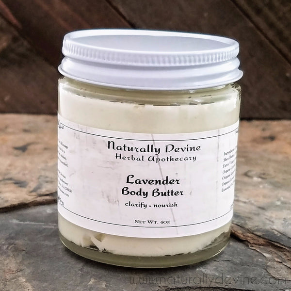 Lavender Body Butter by Naturally Devine Herbal Apothecary
