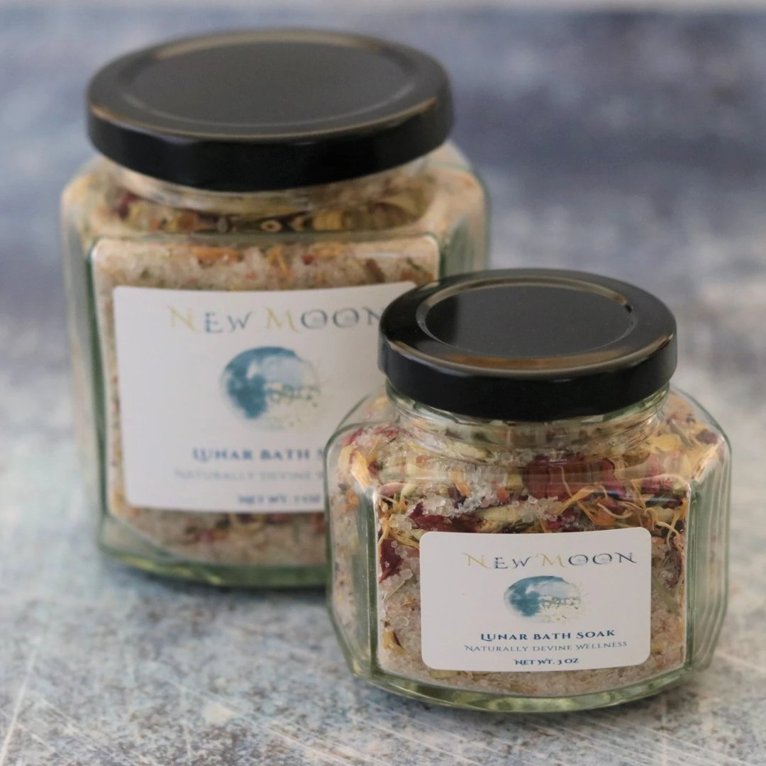 New Moon Bath Soak Naturally Devine Wellness Richmond, VA