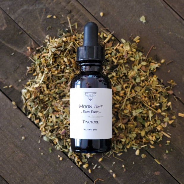 Moon Time Flow Ease Tincture - Naturally Devine Wellness