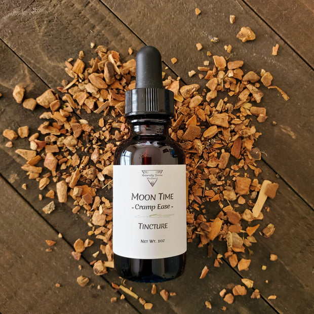 Moon Time Cramp Ease Tincture - Naturally Devine Wellness Richmond, VA