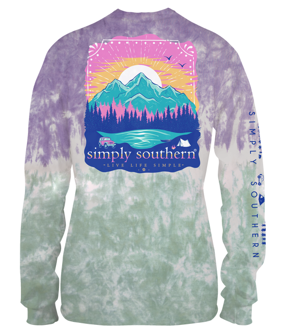 Simply Southern Live Life Simple Mountain Tee
