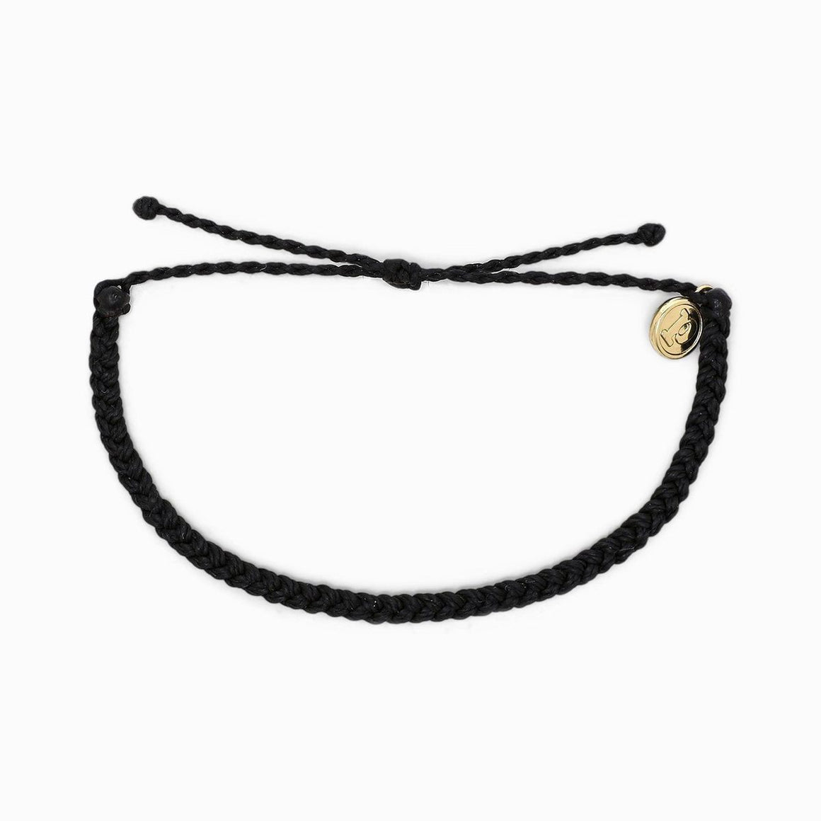 Pura Vida Bracelet - Black Mini Braided