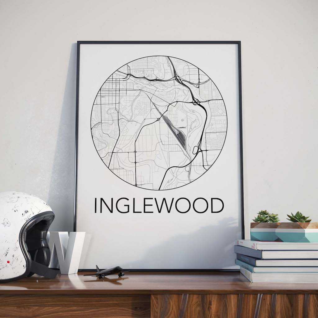 Inglewood, Calgary Neighbourhood Map