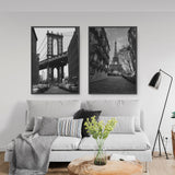 Decorate your home or office with a New York Manhattan Bridge Black & White Photo from The Neighbourhood Unit