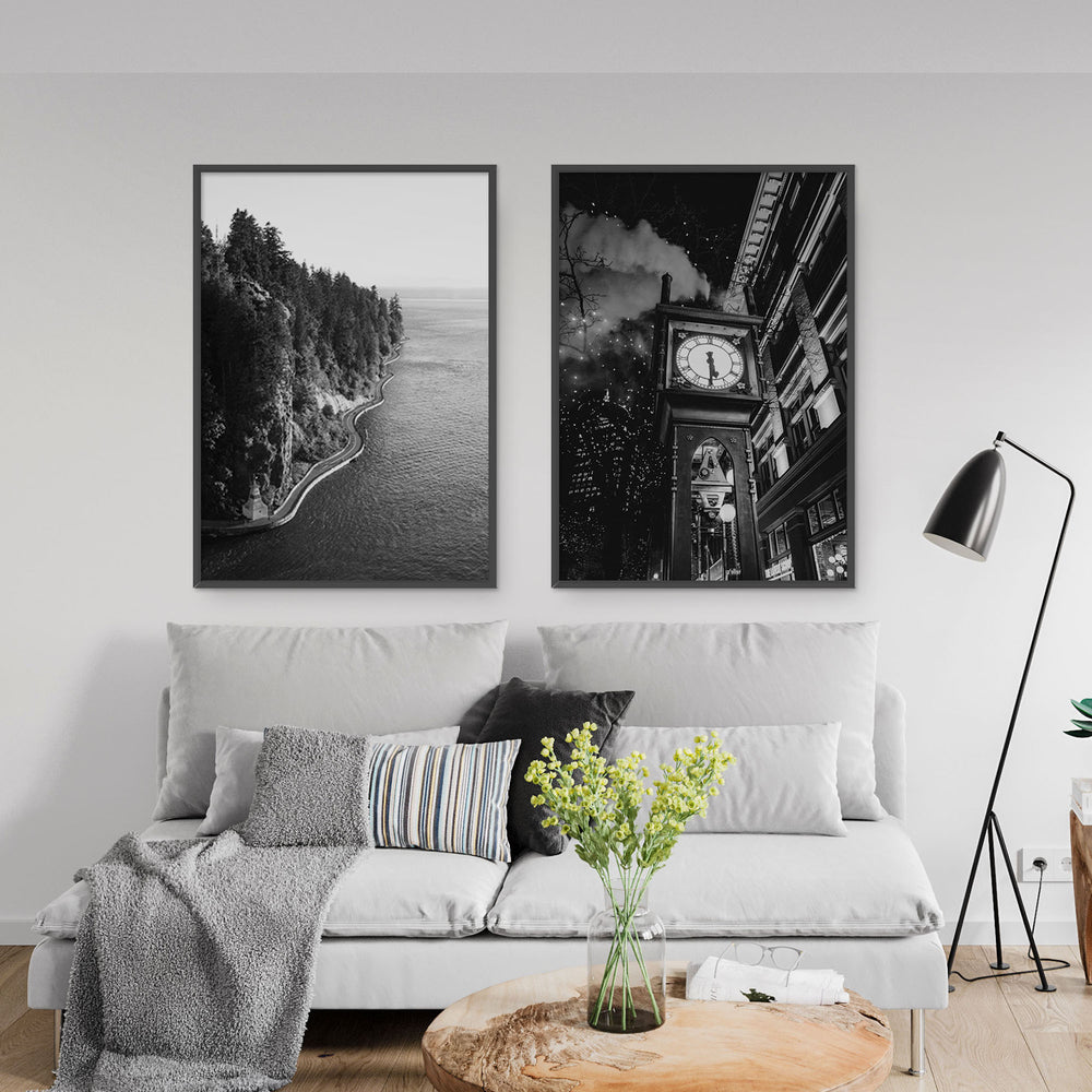 Decorate your home or office with a Vancouver Stanley Park Black & White Photo from The Neighbourhood Unit