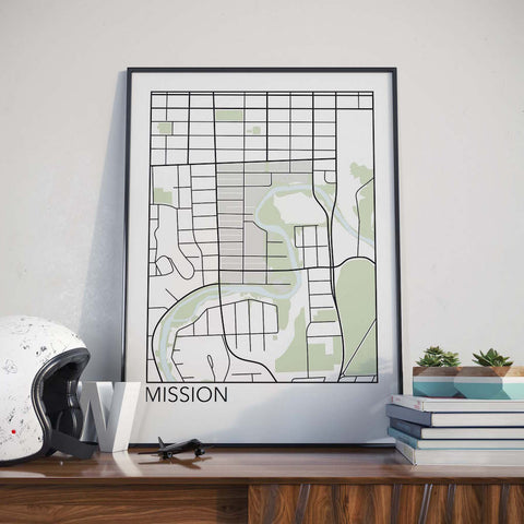 Mission, Calgary Neighbourhood Map