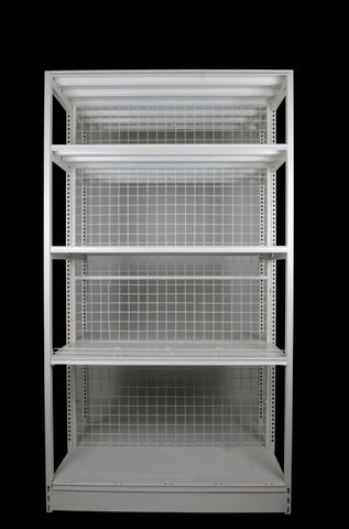 FALCON™ Outrigger Shelving Standard 0.9m(w) x 0.4m(D) x 2.2m(H) Double Sided - 80KGP/level - Australia No.1 Online store -  5 years warranty - 1200 KG loading - Falcon Shelving™