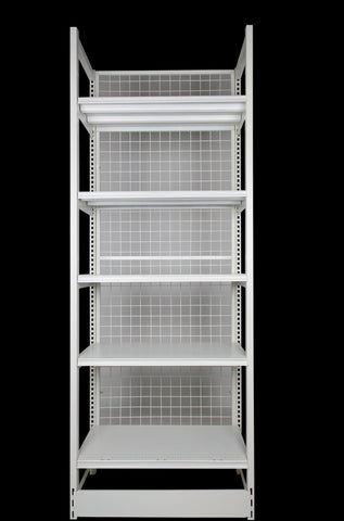 FALCON™ Outrigger Shelving Standard 0.9m(w) x 0.4m(D) x 2.2m(H) Single Sided - 80KGP/level - Australia No.1 Online store -  5 years warranty - 1200 KG loading - Falcon Shelving™