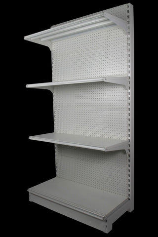 FALCON™ Pegboard Gondola Shelving Standard 0.9m(w) x 0.45m(D) x 2m(H) Single Sided - 60KGP/level - Australia No.1 Online store -  5 years warranty - 1200 KG loading - Falcon Shelving™