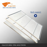 Falcon Shelving Storage warehouse garage long span racking-shelving-racks shelf stand 1.5mW 0.5mD 2m Standard Duty Add on