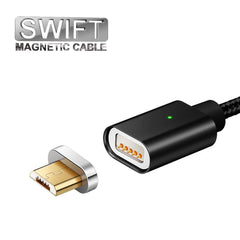 SWIFT Magnetic Micro USB Charging Cable for Android / Samsung