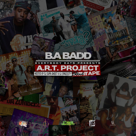 A.R.T Project (Mixtape) Hosted by DJ SpaceGhost & Dj SpaceCity - Everybodyeat