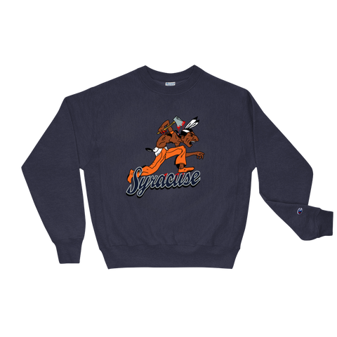 Syracuse Badd Champion Sweatshirt - Everybodyeat