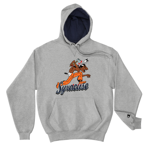 Syracuse Badd Champion Hoodie - Everybodyeat