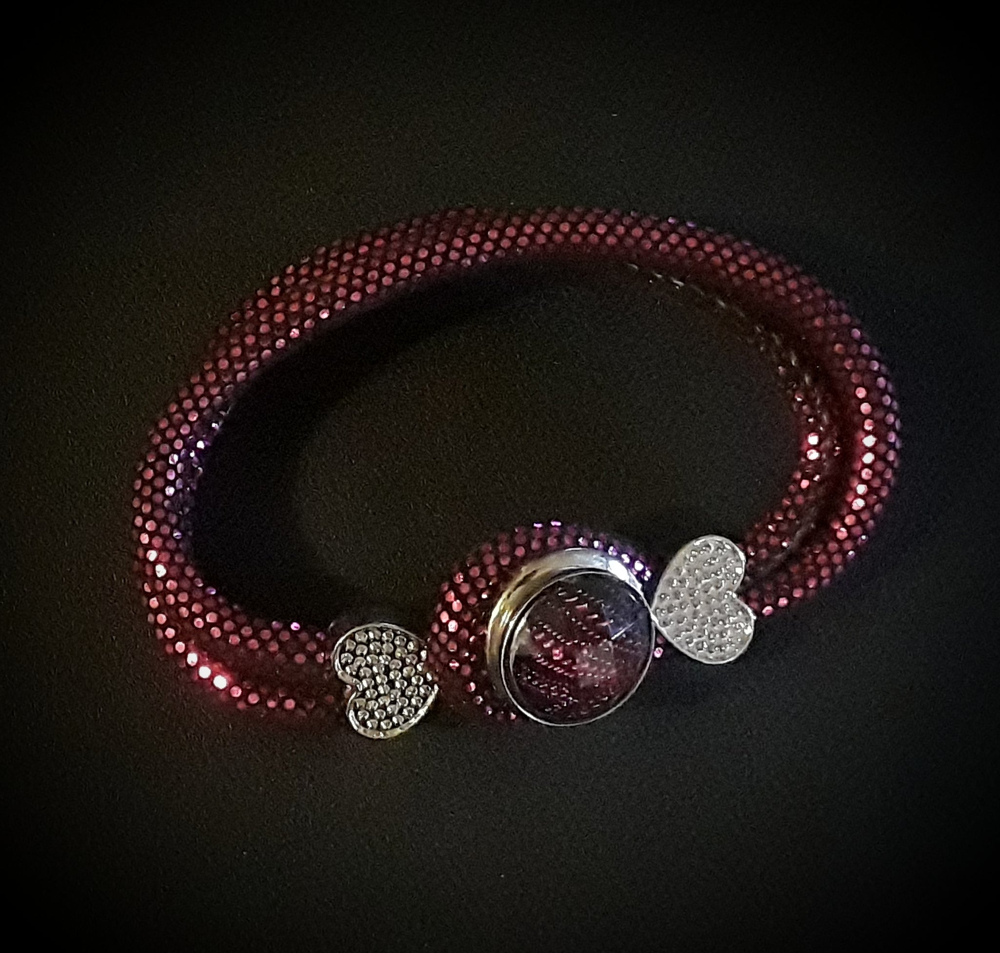 18mm noosa snap bracelet with 2 snaps