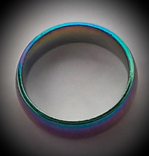 Hemitite rainbow ring