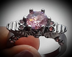 Angel wings and skull ring 3 different color tones all size 9
