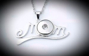 18mm noosa snap Mom pendant