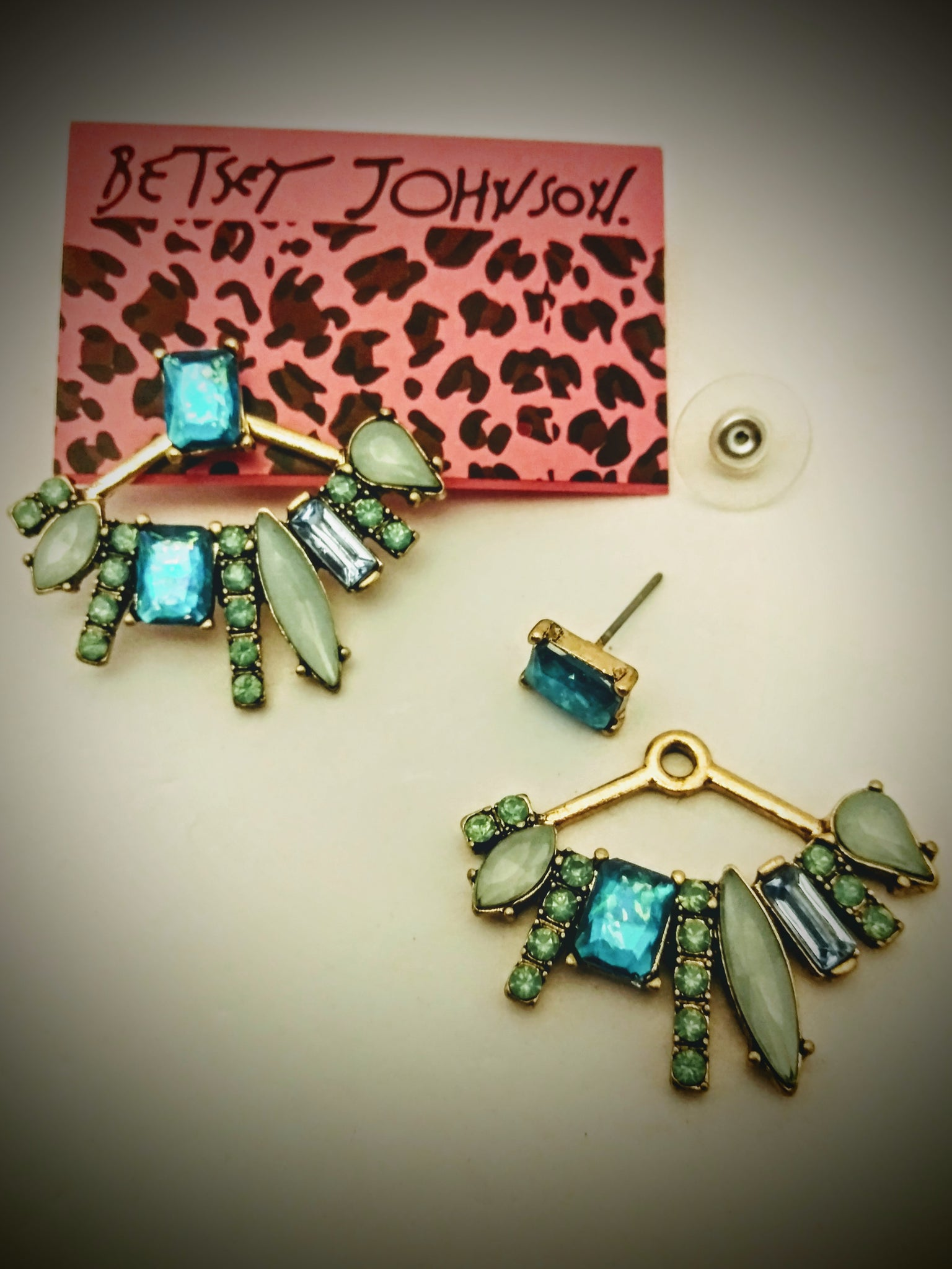 Elegant, unique, and Beautiful Betsey Johnson Bohiemiam style earrings
