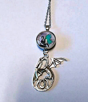 Dragon And Dragon Snap Hot New Snap And Switch Necklace