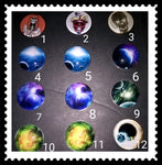 18mm Galaxy snaps for snap it switch it jewelry