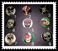 18mm skull snaps for snap it switch it jewelry