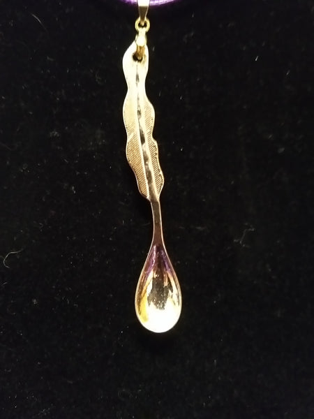 Awareness spoon pendant
