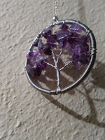 Tree of life gem pendants