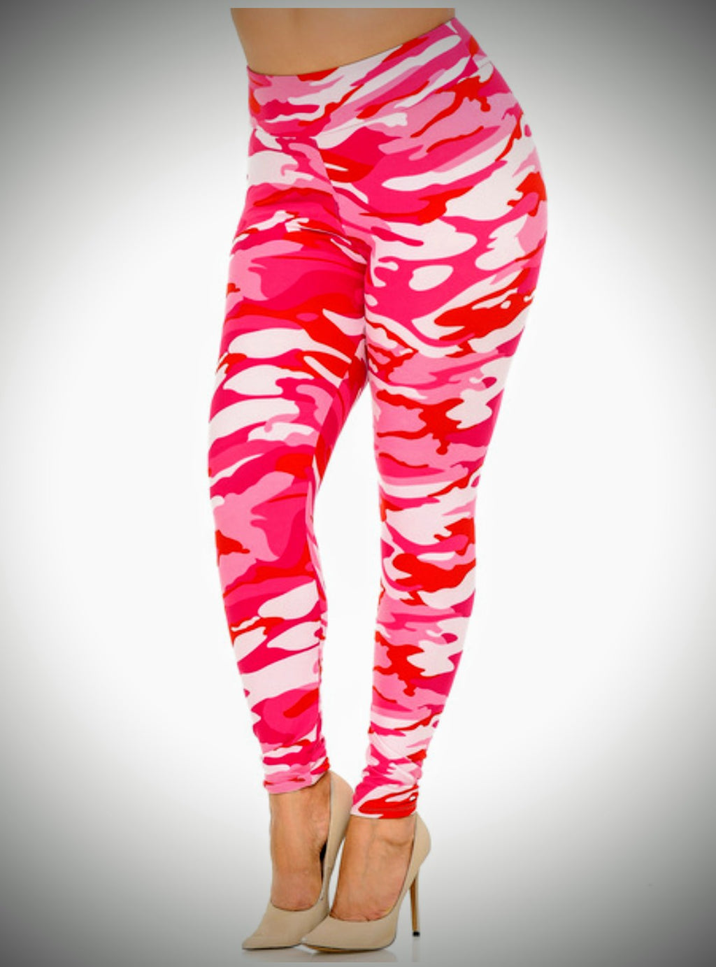 Buttercream soft leggings pink camo