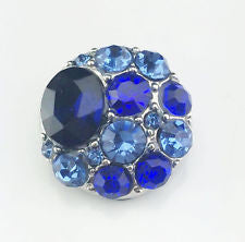 HOT NEW SNAP AND SWITCH 18mm  Snaps multiple colors Rhinestone clusters