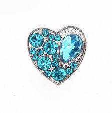 HOT NEW SNAP AND SWITCH 18mm  Snaps multiple colors Rhinestone hearts