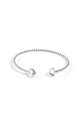 MIRROR MIRROR WHITE GOLD BANGLE