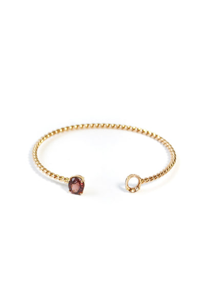 MIRROR MIRROR ROSE GOLD BANGLE