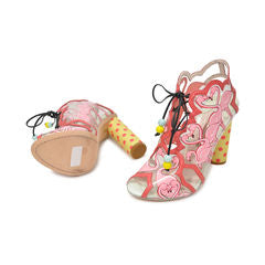 Sophia Webster Flamingo Booties